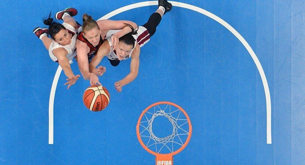 Женская сборная Латвии по баскетболу уступила команде Бельгии на чемпионате Европы