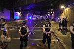 Кадры с места наезда на мусульман в Лондоне