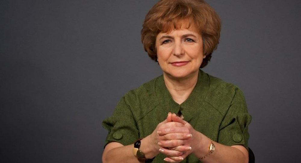 Latvijas Krievu savienības (LKS) līdzpriekšsēdētāja Tatjana Ždanoka