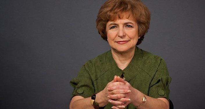 Eiropas Parlamenta deputāte no Latvijas Tatjana Ždanoka