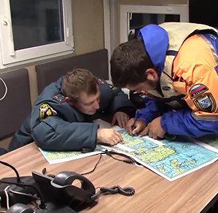 Поиск подростков в районе Ладожского озера