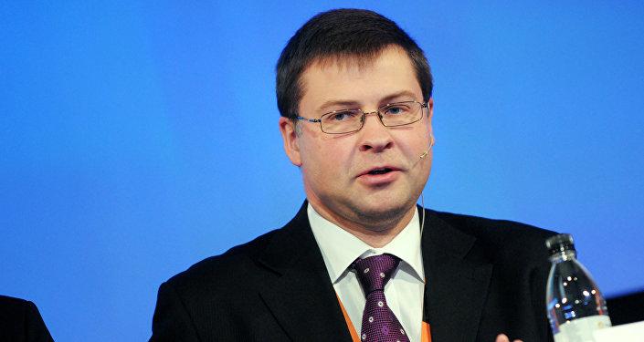 Latvijas bijušais premjerministrs Valdis Dombrivskis. Foto no arhīva