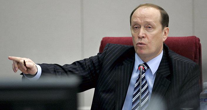 Krievijas vēstnieks Latvijā Aleksandrs Vešņakovs. Foto no arhīva