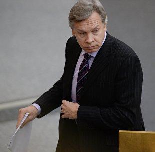 Krievijas senators Aleksejs Puškovs