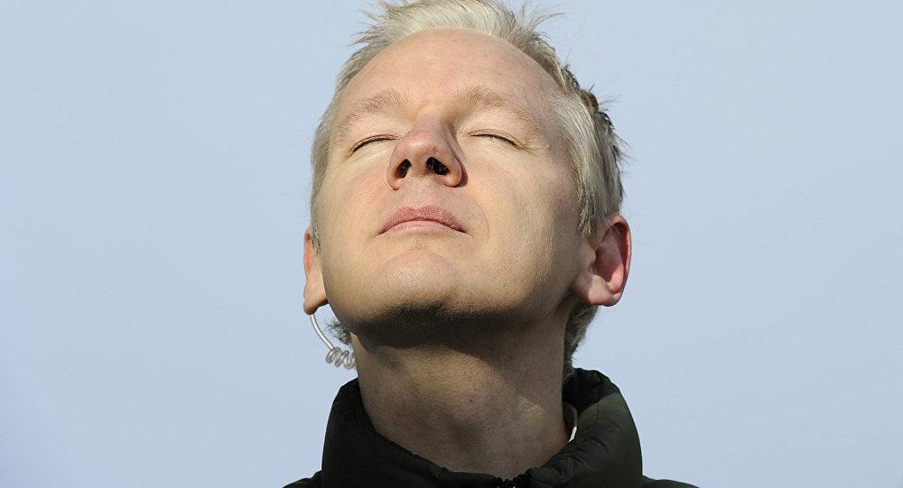 Džulians Asanžs, tīmekļa vietnes WikiLeaks dibinātājs. Foto no arhīva
