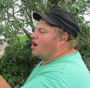 Орнитолог Латвийского музея природы Дмитрий Бойко