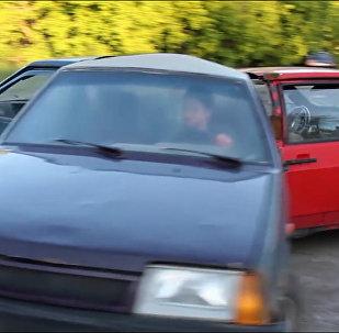 Спиннер из автомобилей