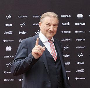 Президент Федерации хоккея России Владислав Третьяк, архивное фото