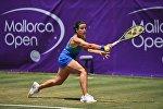 Анастасия Севастова в матче 2 круга Mallorca Open, архивное фото