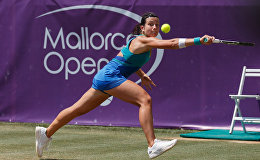 Анастасия Севастова в матче на Mallorca Open
