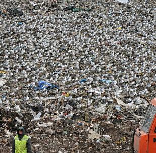 Atkritumu izgāztuve. Foto no arhīva