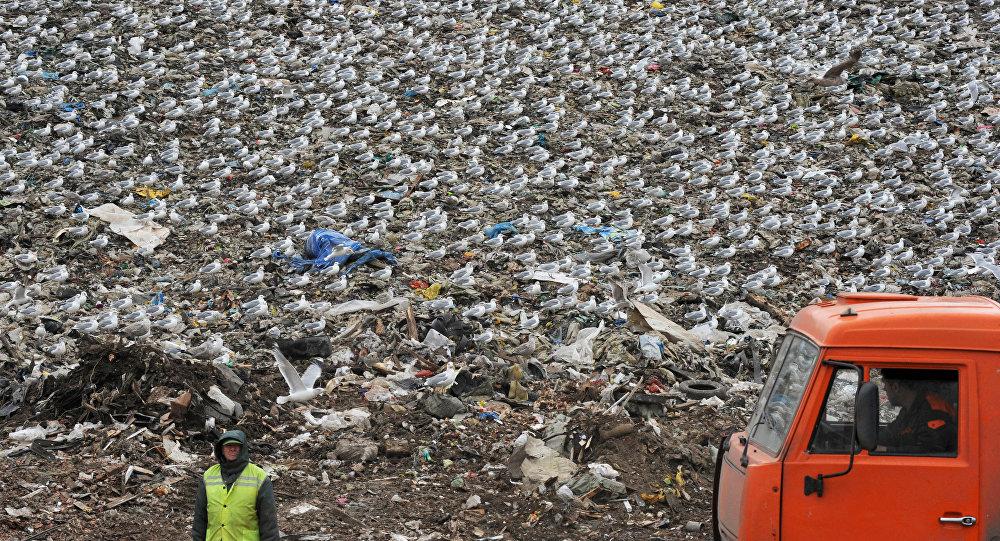 Izgāztuve. Foto no arhīva