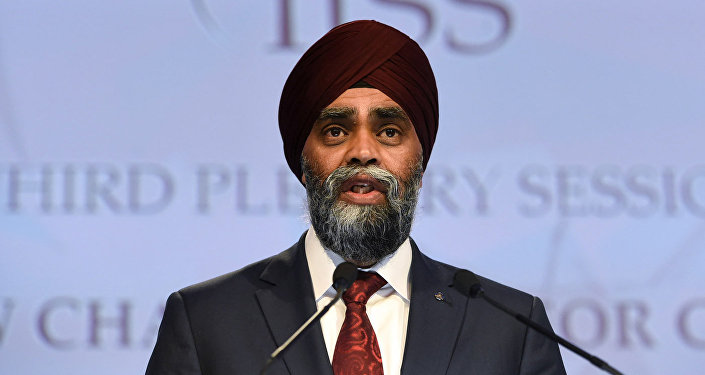 Министр обороны Канады Харджит Сингх Саджан