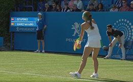 Елена Остапенко на турнире Aegon International в Истборне