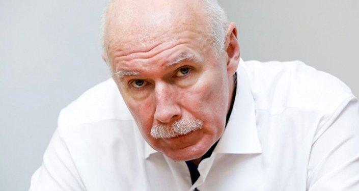 Президент Латвийского Общества врачей Петерис Апинис