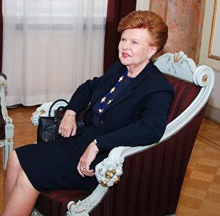 Latvijas bijušā prezidente Vaira Vīķe-Freiberga. Foto no arhīva
