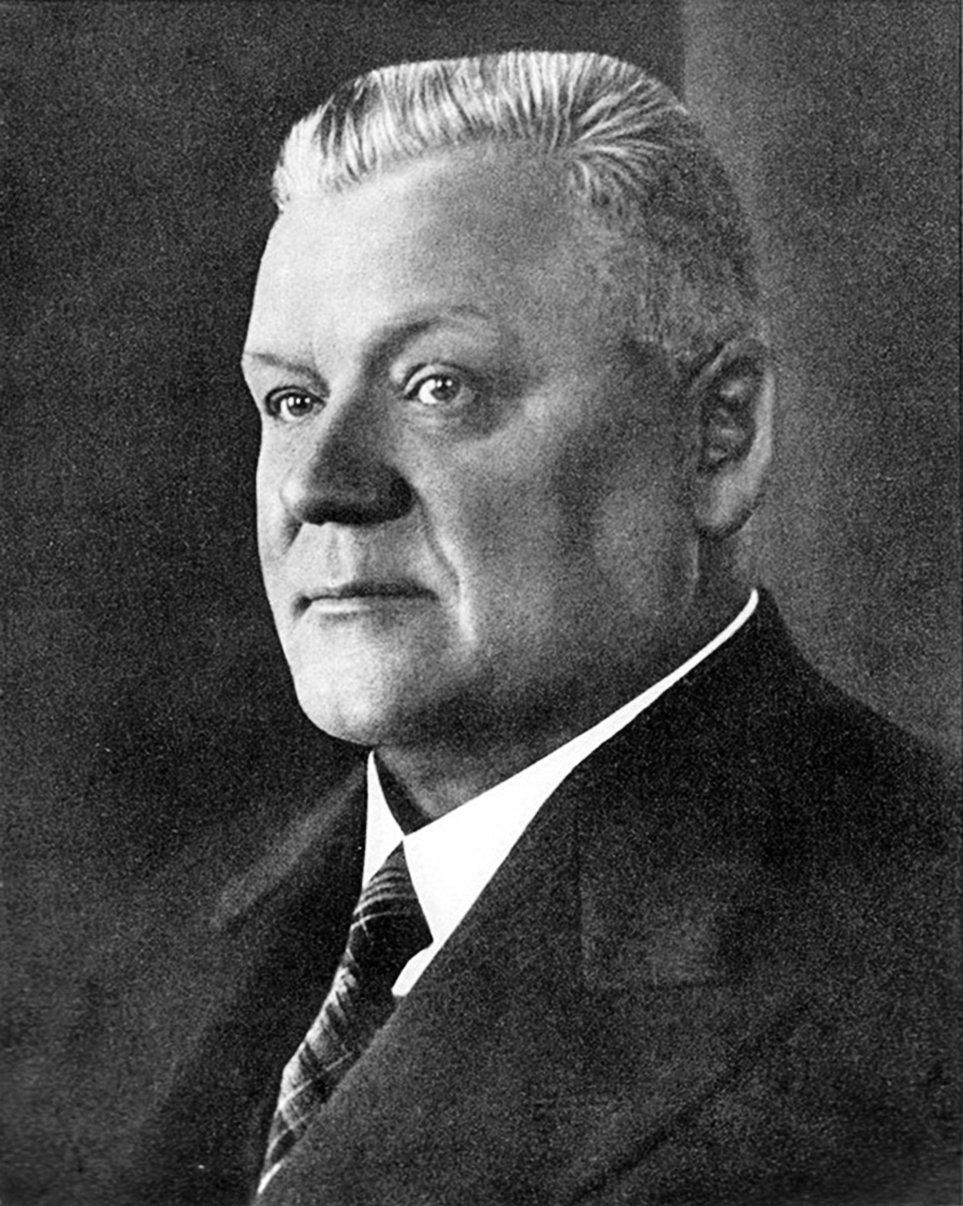 Экс-президент Латвии Карлис Улманис, архивное фото