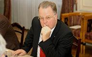 Экс-президент Латвии Гунтис Улманис, архивное фото