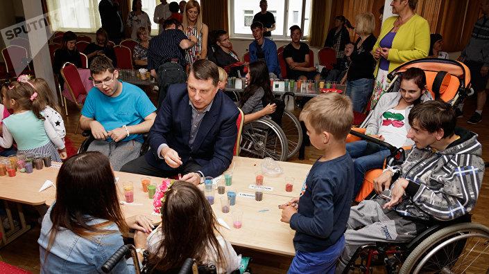 Президент в гостях у детей в лагере Планета надежды
