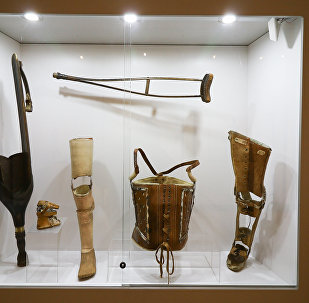 Экспозиция в Музее истории медицины