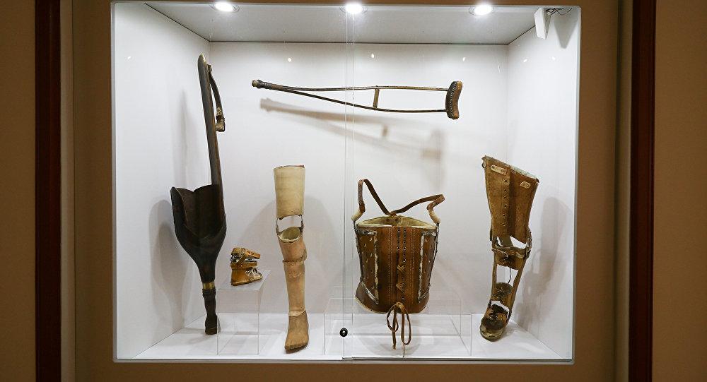 Ekspozīcija Medicīnas vēstures muzejā