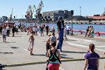 День моря, Вентспилс - народные гуляния