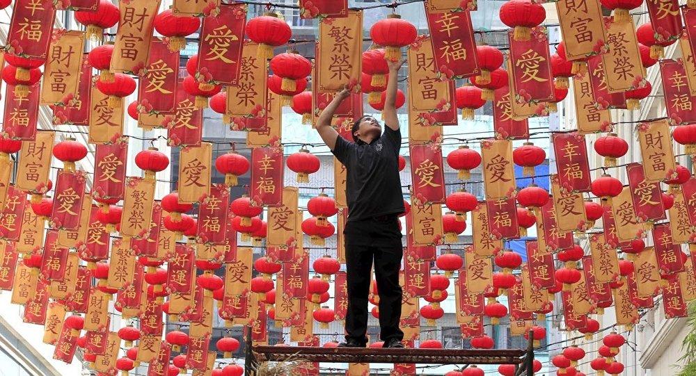 Ķīniešu Jaunā gada gaidās. Foto no arhīva