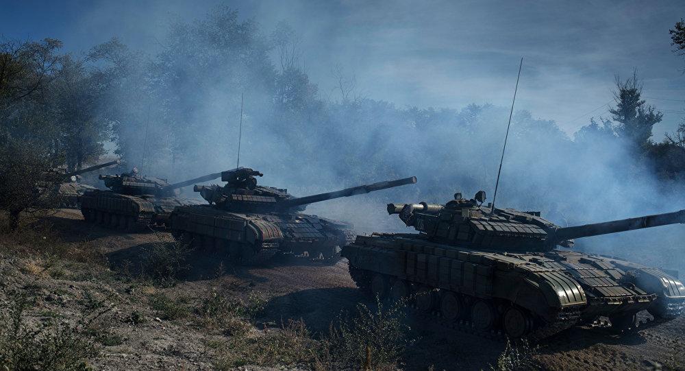 Situacija Luganskā. Foto no arhīva