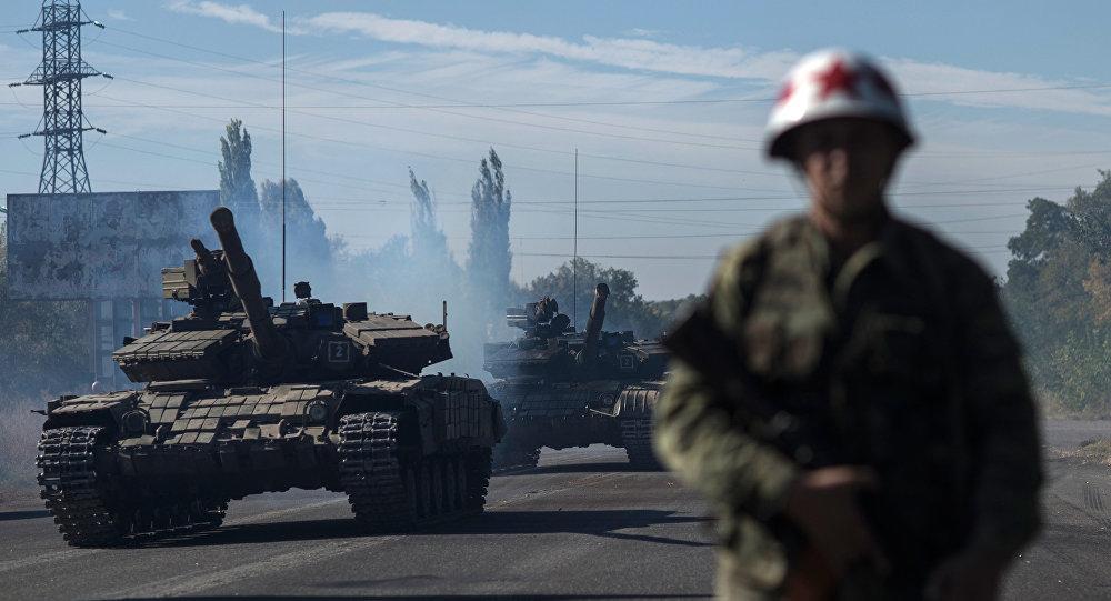 Karadarbība Donbasā