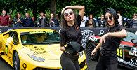 Rīgā gatavojas rallija Gumball 3000 startam
