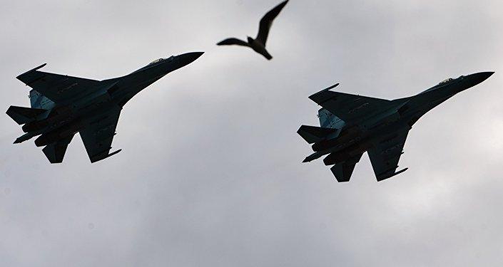 Самолеты-перехватчики Су-27