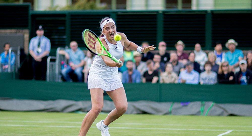 Теннисистка Елена Остапенко
