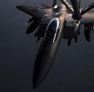 F-15E Strike Eagle. Foto no arhīva