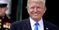 Amerikāņu līderis Donalds Tramps