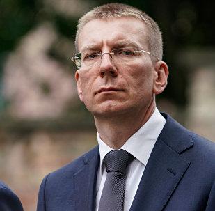 Министр иностранных дел Латвии Эдгарс Ринкевичс