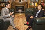 Премьер-министр Канады Джастин Трюдо и премьер-министр Ирландии Лео Варадкар