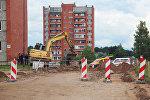 Разрыв газопровода в Ругелях, на улице Академика Графтио, 23