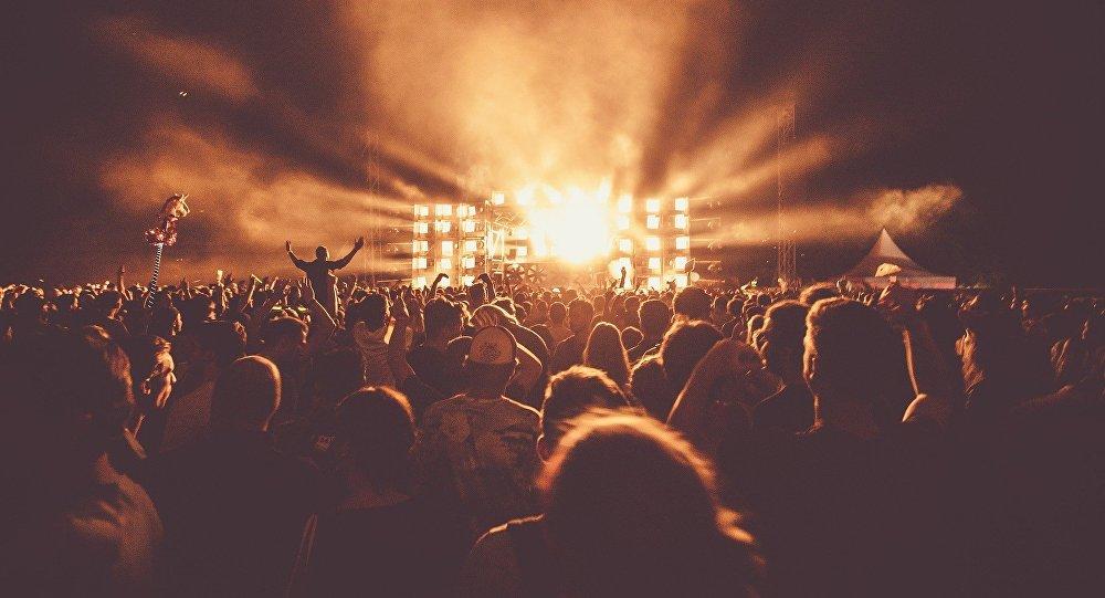 Музыкальный фестиваль, архивное фото