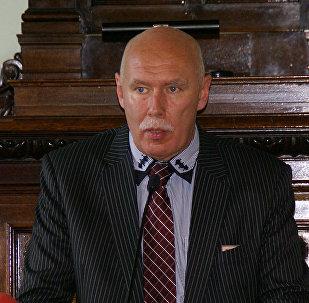 Председатель Латвийского общества врачей Петерис Апинис