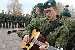 Военнослужащие на присяге в Литве