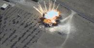 Krievijas KKS spārnotās raķetes iznīcinājušas ISIS noliktavas Sīrijā