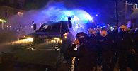 Policistu sadursmes ar protestu dalībniekiem Hamburgā