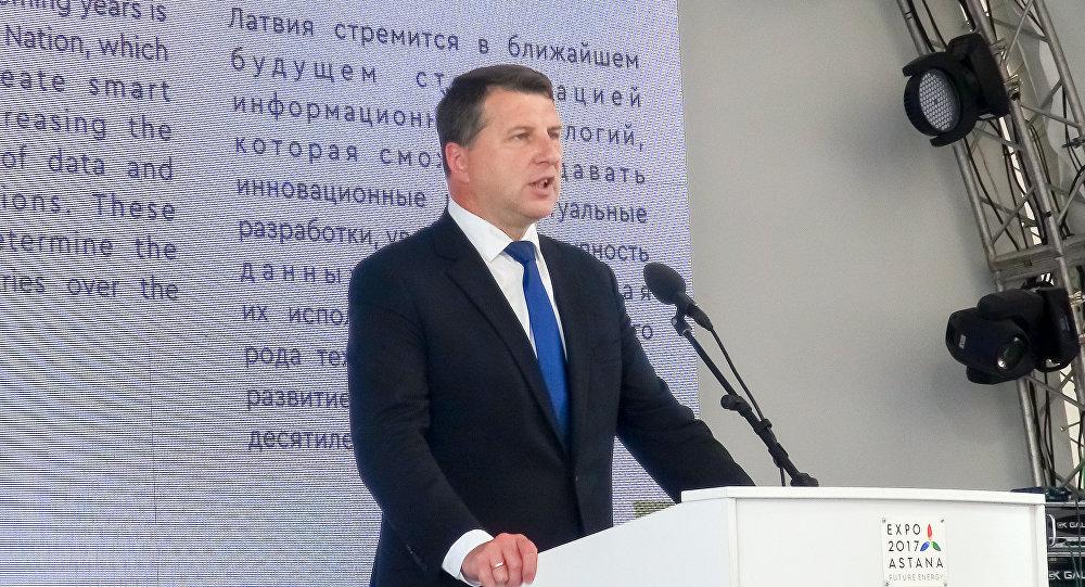 Национальный день Латвии вКазахстане