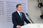 Президент Раймондс Вейонис на открытии национального дня Латвии в рамках выставки Астана-Экспо 2017