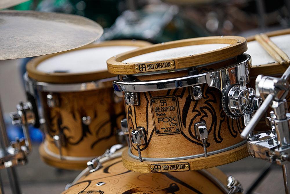 Произведённые в Латвии барабаны BRO Creation