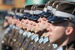 Рота почетного караула Штабного батальона Национальных вооруженных сил Латвии