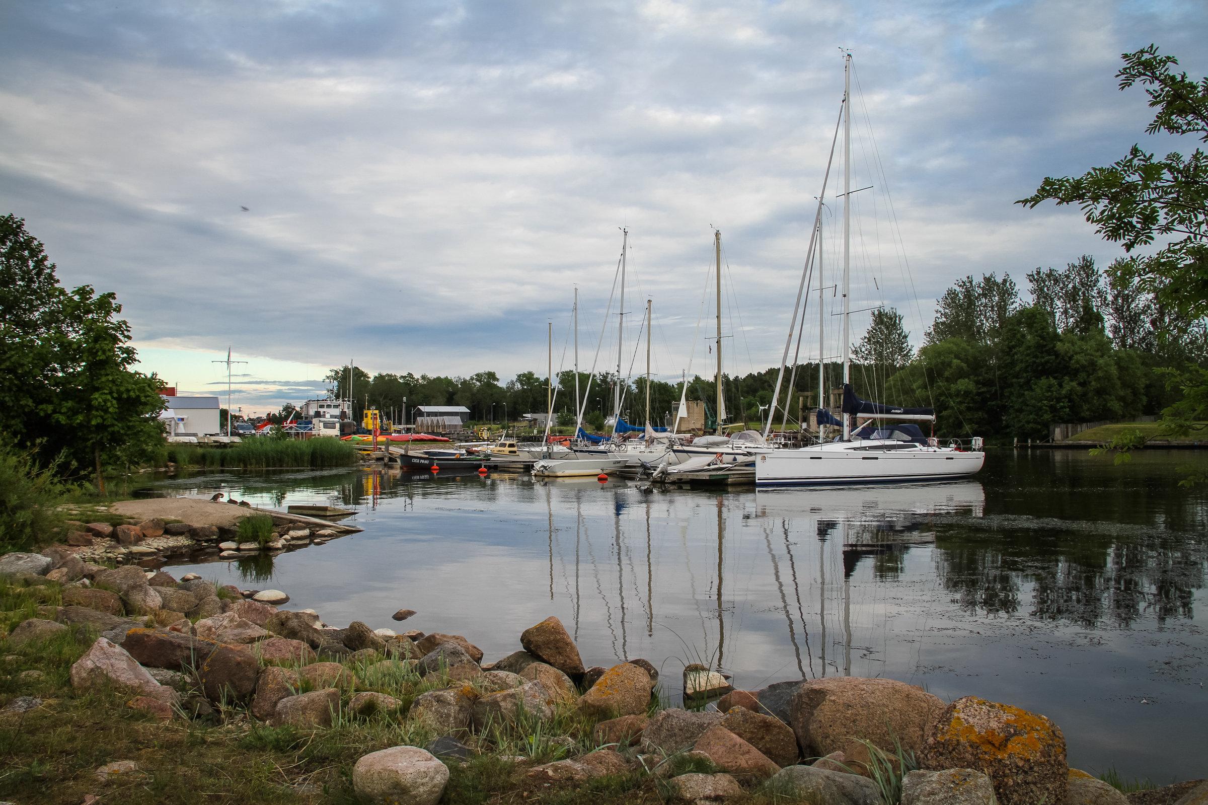 Павилостский порт