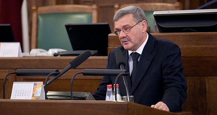 Мэр Даугавпилса Янис Лачплесис. Архивное фото