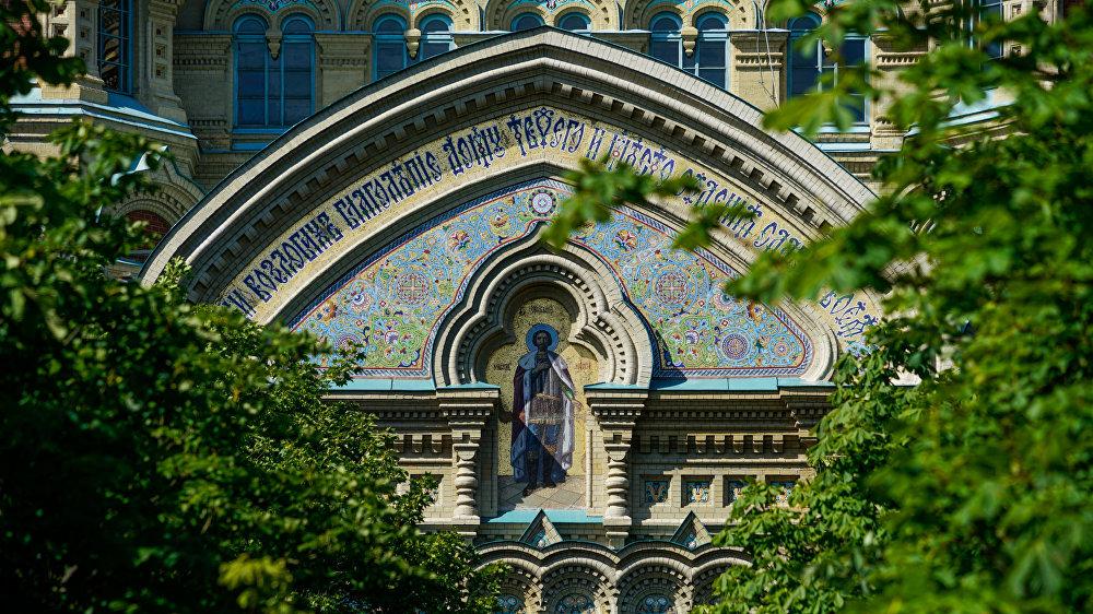 Лиепайский Свято-Никольский морской собор