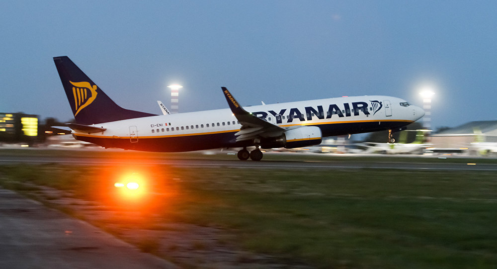 Ирландская авиакомпания Ryanair аннулировала часть собственных рейсов ради отпусков пилотов